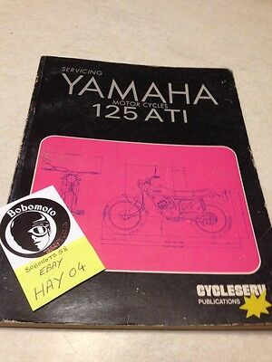 Cycleserv Yamaha 125 AT1 owner workshop service manual , revue technique atelier
