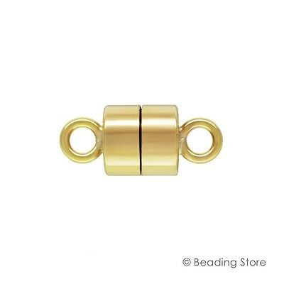 1 or 10 x 14ct Yellow Gold Filled 4.4mm x 9.9mm Long Magnetic Clasp Clasps