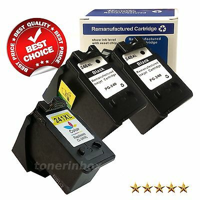 PG-240XL CL-241XL Black Color Ink Lot For Canon PIXMA MG and MX Series Printer