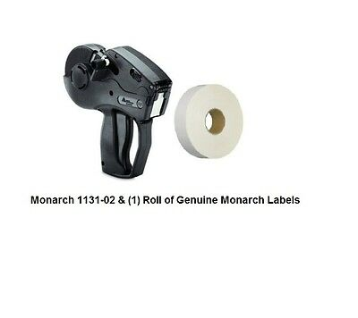 New Monarch 1131-02 With 2,500 Labels & Ink Roller *free Shipping!*lowest Price*