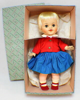 "Madame Alexander 12"" Vintage Smarty Doll in original box and clothes #1155"