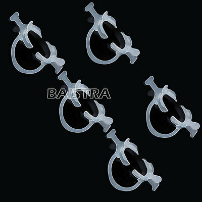 UK 5X Dental Cheek Lip Retractor Expanders Mouth Opener Wing C-Shape with Handle