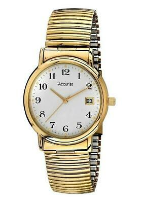 Accurist MB966WA Stainless Steel Gold Plated Mens Watch