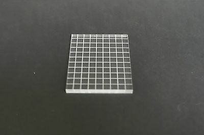 45x55mm Acrylic Stamping Block Set, Grided or Plain. Rubber Stamps, Card Making