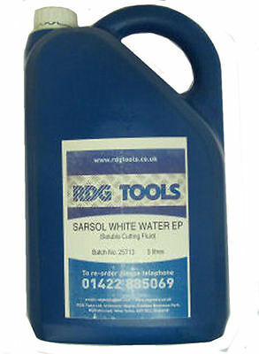 Rdgtools Water Soluble Cutting Oil 5 Litre Bottle Milling Lathes Cutting Drill