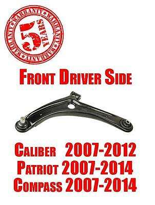 Front Left Lower Control Arm for Dodge Caliber 07-12 Jeep Compass Patriot 07-14