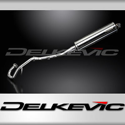 EXHAUST SYSTEM 450mm OVAL STAINLESS SILENCER YAMAHA WR125 X 2009-2017