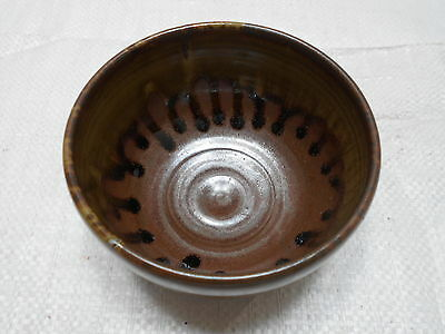 Japanese Tea Ceremony Pottery Bowl Chanoyu Traditional Vintage  #101