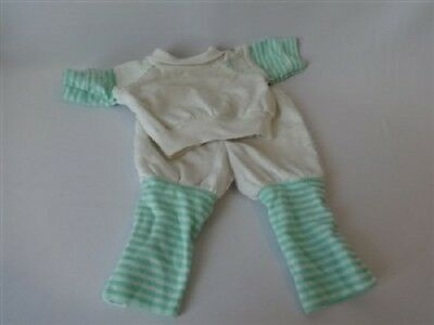Vintage Cabbage Patch Kids Doll Sweats Jogging Set Outfit Coleco Clothing Cpk