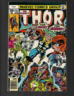 Thor #257 Journey Into Mystery Mar 1977  VF+