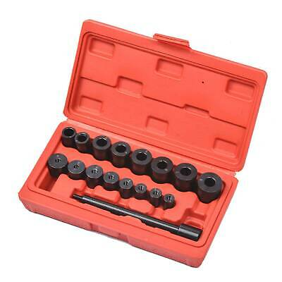 Universal 17Pc Clutch Alignment Tool Kit Bearing Transmission Adapter Bushes Set
