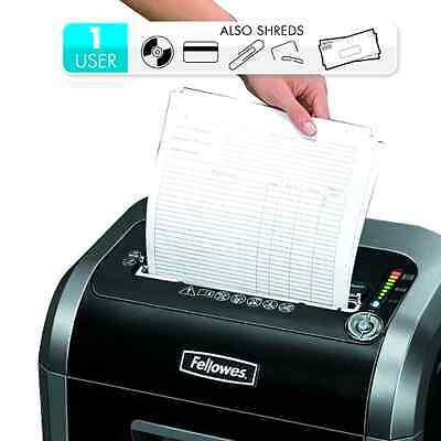 Shredder Heavy Duty Paper/Credit Card Crosscut Industrial Commercial Office Home