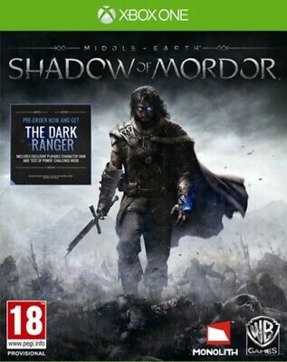 Middle-earth: Shadow of Mordor (Xbox One) PEGI 18+ Adventure: Role Playing