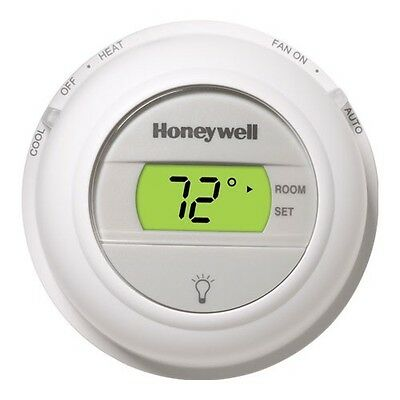 New Honeywell T8775C 1005 Digital Round Thermostat T8775