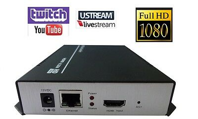 HDMI Streaming Encoder Youtube Twitch Ustream LiveStream Live Broadcast IP Video
