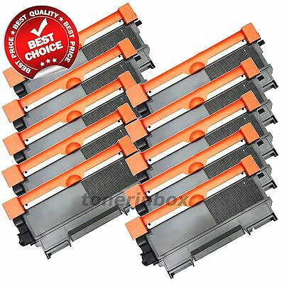 10 PK TN450 Toner Cartridge For Brother TN-420 450 Hl-2220 2240 2270DW MFC-7360N