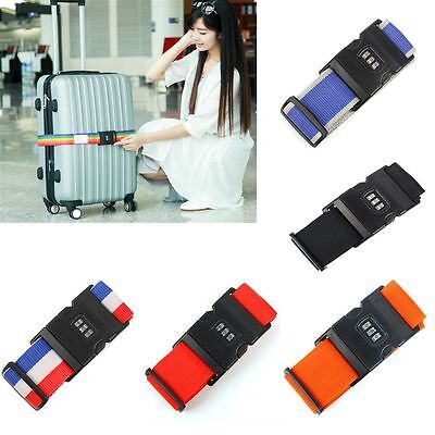 Adjustable Suitcase Lock Belt Combination Luggage Strap Travel Baggage Tie Down