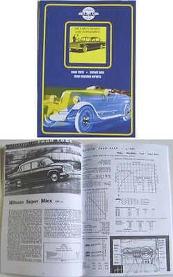 Hillman Husky Hillman Superminx Commer Cob Road Test Book by Unique Motor Books