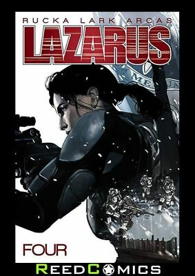 LAZARUS VOLUME 4 POISON GRAPHIC NOVEL New Paperback Collects Issues #16-21