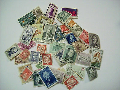 Music Stamps European & Asian Cancelled Lot Of 46