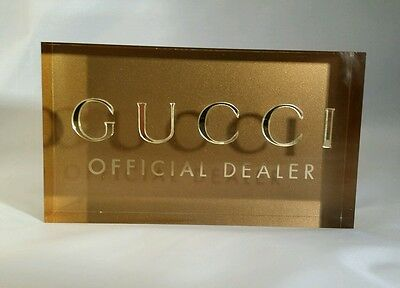 Gucci Eyewear Official Dealer Sunglasses Eyeglasses Stand Display Merchandise