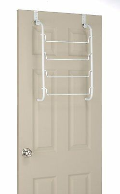 Whitmor 6023-529 Over The Door Towel Rack, White,1, Great for extra towel space