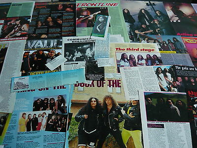Death Angel - Magazine Cuttings Collection (Ref R12)