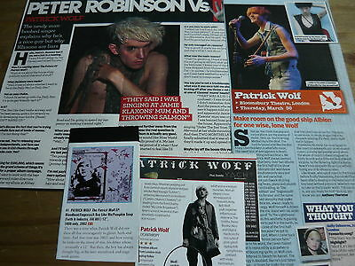 Patrick Wolf - Magazine Cuttings Collection (Ref Xb)