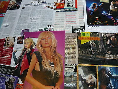 Doro/warlock - Magazine Cuttings Collection (Ref X1A)