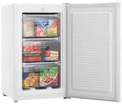 Heller HF80 80L white Upright Freezer Reversible door