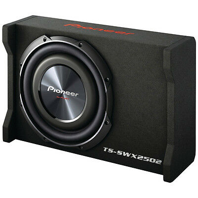 Pioneer TS-SWX2502 10-Inch Space-Saving Flat Car Subwoofer, Enclosure 1200 Watts