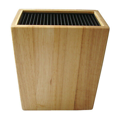 KB5633WB Grunwerg Universal Kitchen Knife Storage Block Wooden Holds 20 Knives