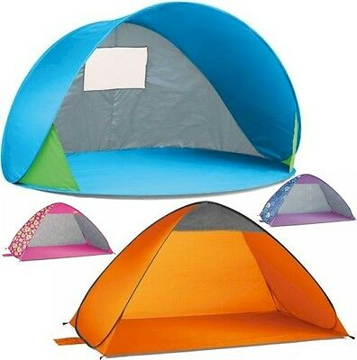 Pop Up Beach Tent With UPF 40 Sun Protection camping festival shelter