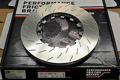 Performance Friction 329.24.0063.46 BMW E90 Front Rotor Long Slotted RH Brembo