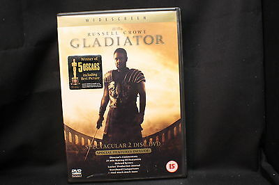 GLADIATOR *Russell Crowe WIDESCREEN 2 DISC EDITION - Region 2 dvd movie