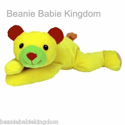 Ty Beanie Pillow Pals * Huggy * The Red & Yellow Bear 03111