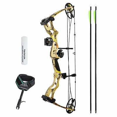 "SET: Man Kung Compoundbogen Hawk® Autumn Camo 26-30""/50-70 lbs RH"