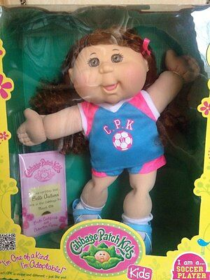Cabbage Patch Kids: Soccer Player doll