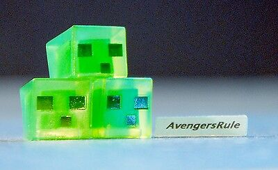 Minecraft Collectible Mini Figures Mattel Dig In! Series 4 Slime Cubes
