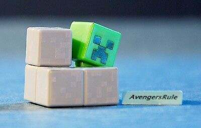 Minecraft Collectible Mini Figures Mattel Dig In! Series 4 Sneaking Creeper