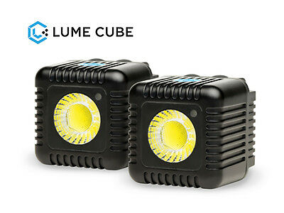 Lume Cube 1500 Lumen Light, 2-Pack (Black) #LC-22B