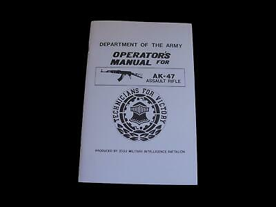 Department Of The Army Operator's Ak-47 Handbook
