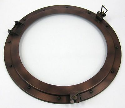 "21"" Porthole Window Iron Antique ~ Cabin Porthole~ Ship Porthole ~Nautical Decor"