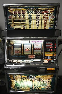 """Igt S2000 Coinless Slot Machine """"the Mummy"""" Very Hard To Find"""