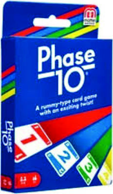 """Phase 10 CARD GAME - CARDS Family Fun Playing Card Game """"TOP QUALITY"""""""
