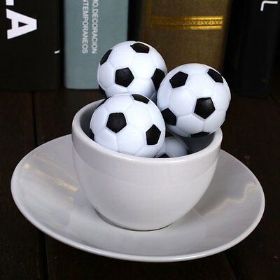 New Fun Plastic 4pcs 32mm Soccer Table Foosball Ball Fussball Indoor Game