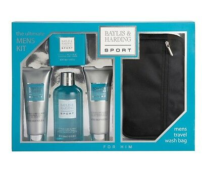 Baylis & Harding Men's Citrus Lime and Mint Ultimate 5 Piece Luxury Set.