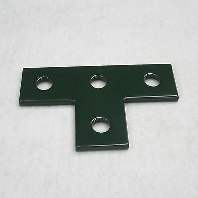 (4) Hole Flat Plate Fitting / Green / (Qty 4)  P1031 & B133 For Unistrut Channel