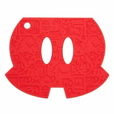 disney parks mickey mouse pants silicone kitchen trivet new with tags