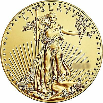 RANDOM YEAR 1/2oz Gold American Eagle $25 BU